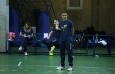 Virtus Roma coach Nobili