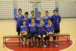 Under 13 bollate team volley