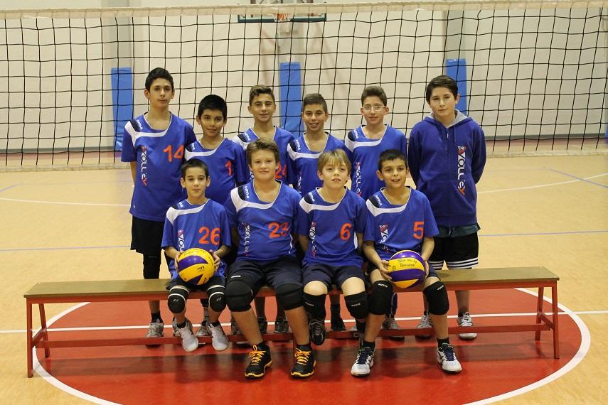 Under 13 bollate team volley